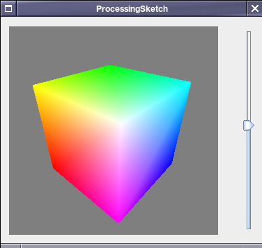 Processing Sketch Running on JFrame